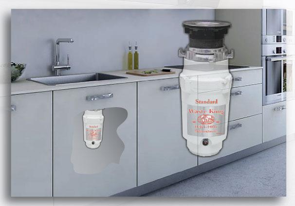 Najmenší najlacnejší drvič odpadu do každej kuchyne, priestorovo nenáročný, malý a výkonný