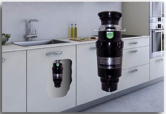 Nejmenší nejlevnější drtič odpadu do každé kuchyně, prosotorvě nenáročný, malý a výkonný